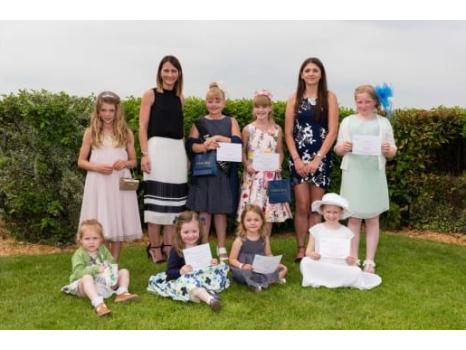 Peplow Jewellers sponsor Little Ladies at Worcester Races