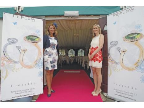 Alison Pickerill and Jo Bourne, Peplow Jewellers