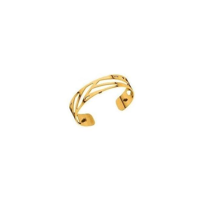 Les Georgettes 14mm gold plated Ruban bangle cuff 70285690100