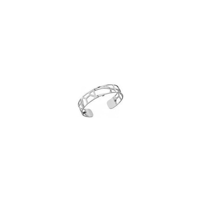 Les Georgettes 14mm silver plated Girafe bangle cuff 70261651600