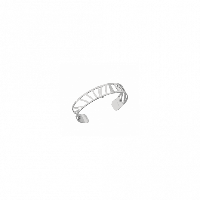 Les Georgettes 14mm silver plated Perroquet bangle cuff 70261681600