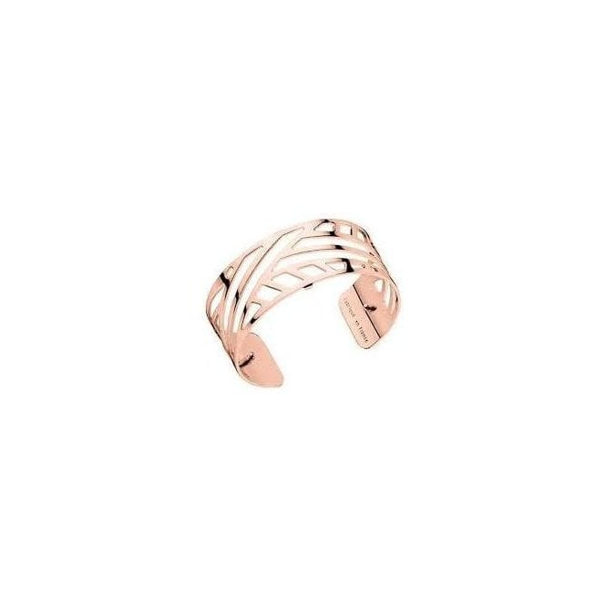 Les Georgettes 25mm rose plated Ruban bangle cuff 70185684000