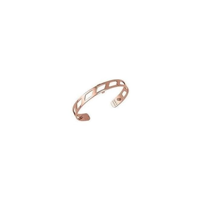 Les Georgettes 8mm rose gold plated Ruban bangle cuff 70316884000