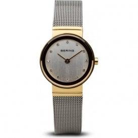 Bering classic bi colourl white dial watch 4894041910024