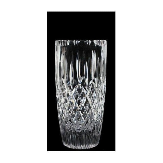 British Crystal STOURTON BARREL VASE 7""