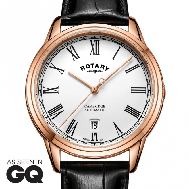 Rotary Watches Cambridge Rose Gold Automatic
