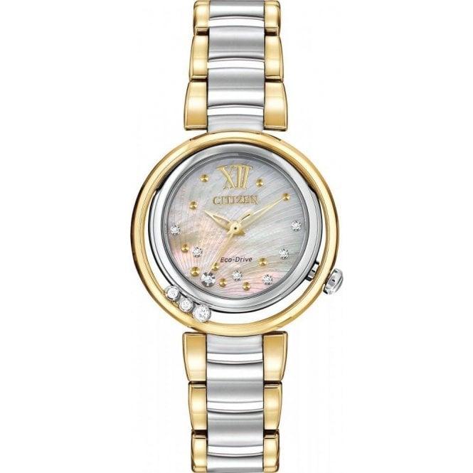 Citizen Watches Citizen Ladies' Sunrise Diamond Eco-Drive Watch EM0324-58D
