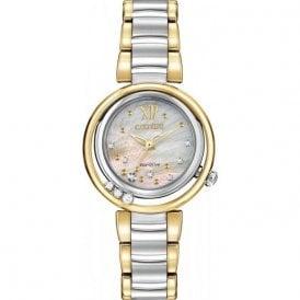 Citizen Ladies' Sunrise Diamond Eco-Drive Watch EM0324-58D