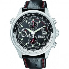 Citizen Gents Eco Drive Red Arrow Watch