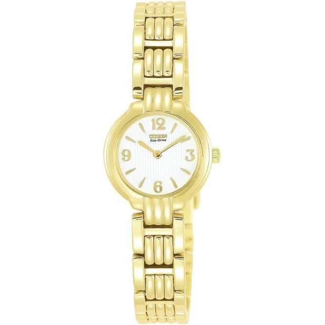 Citizen Watches Citizen Ladies Gold Plated Eco Drive Watch