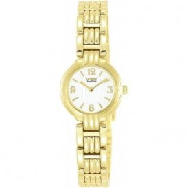 Citizen Ladies Gold Plated Eco Drive Watch