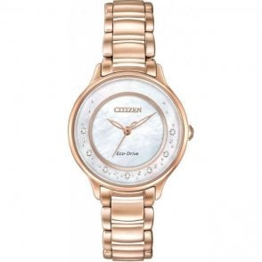 Citizen Ladies Circle of Time Diamond Eco-Drive Watch EM0382-86D