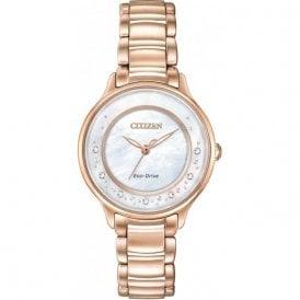 Citizen Ladies Circle of Time Diamond Eco-Drive Watch EM0382-86D