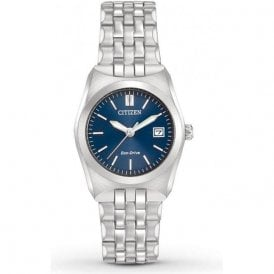 Citizen Ladies Corso Blue Dial Eco-Drive Watch EW2290-54L
