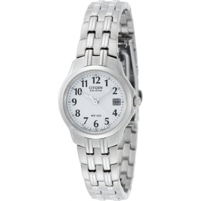 Citizen Watches Citizen Ladies Stainless Steel Eco-Drive Watch EW1540-54A