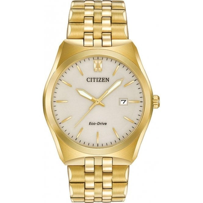 Citizen Watches Citizen Men's Gold Tone Corso Eco-Drive Watch BM7332-53P