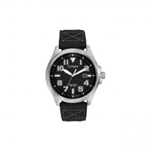 Citizen Military Eco-Drive Watch AW1410-08E