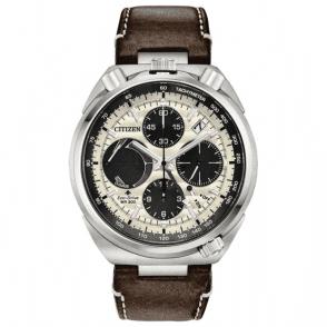Gents steel Promaster Tsuno Chronograph racer, AV0079-01A