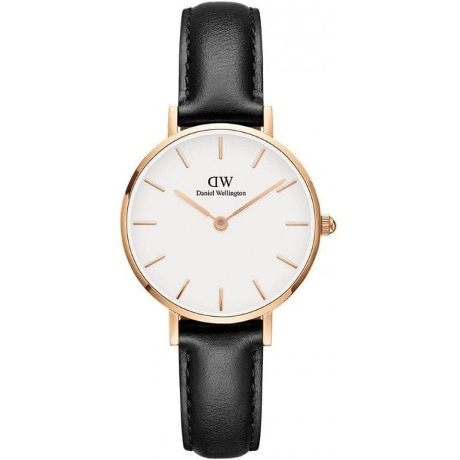 Daniel Wellington Watches Classic Petite Sheffield 28mm rose plated watch, DW00100230