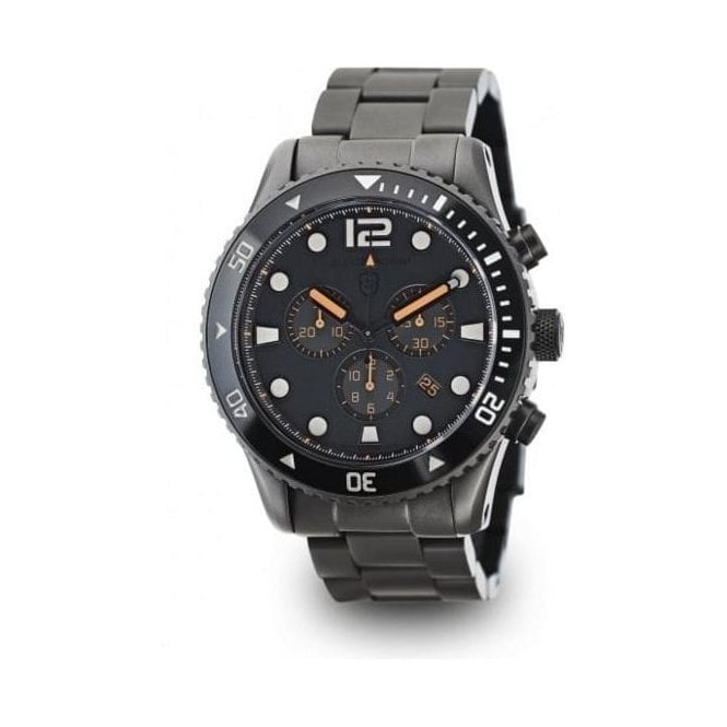Elliot Brown Bloxworth Grey Dial and Gunmetal PVD Watch