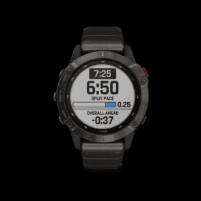fenix 6 - Pro Solar EditionTitanium carbon grey DLC with titani