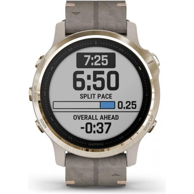 Garmin Fenix 6S Gold Tone Sapphire Edition Watch