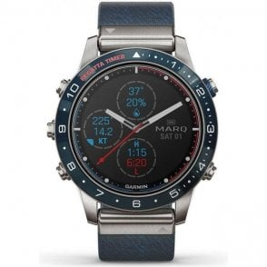 Garmin MARQ Captain Modern Tol Mens Watch