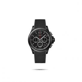 Gents black PVD Longines Conquest watch, L37172669
