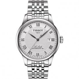 Gents classic steel Tissot automatic Le Locle bracelet watch