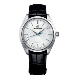 Gents limited edition Grand Seiko Spring Drive strap watch