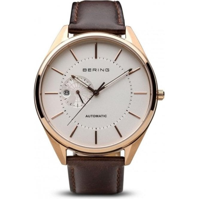 Bering Watches Gents rose PVD Bering automatic