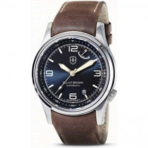 Gents stainless steel Elliot Brown Tyneham watch..