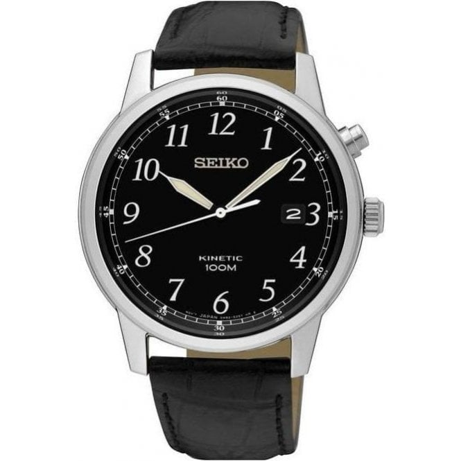 Seiko Watches Gents stainless steel Seiko Kinetic classic  SKA781P1