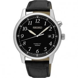 Gents stainless steel Seiko Kinetic classic  SKA781P1