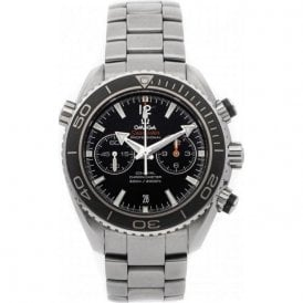 Gents steel Omega Professional Planet Ocean  automatic watch.