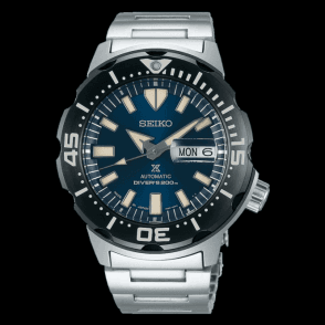 Gents steel Seiko Prospex automatic bracelet watch, SRPD25K1