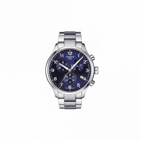 Gents steel Tissot chronograph bracelet model, T1166171104701