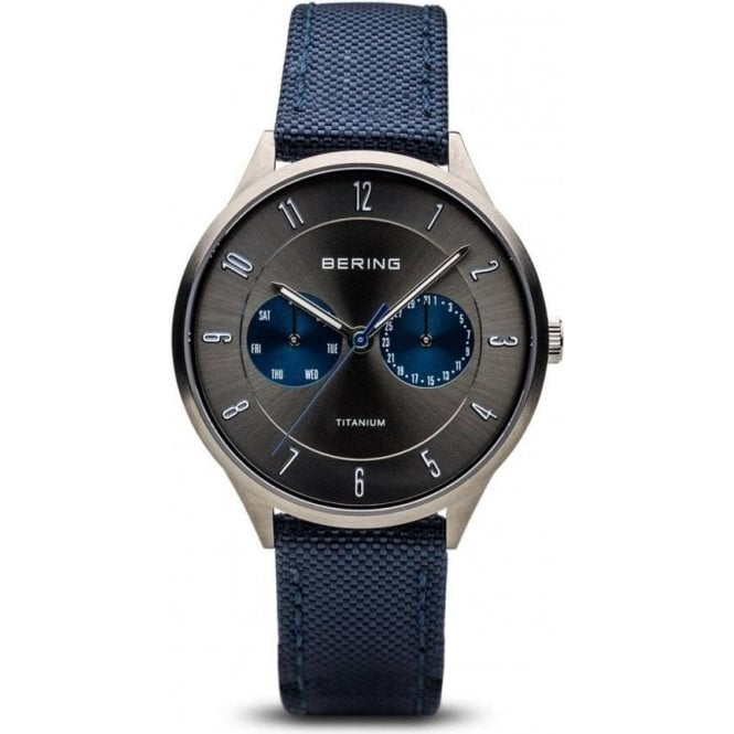 Bering Watches Gents titanium Bering quartz
