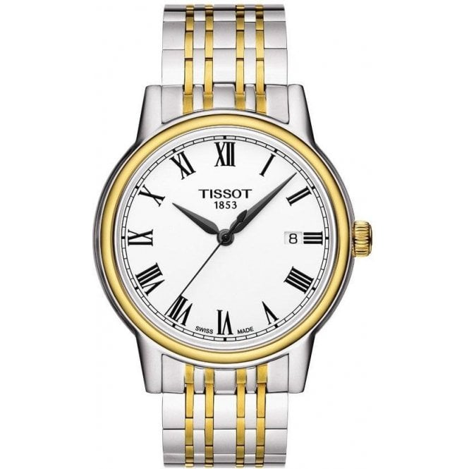 Tissot Watches Gents Two-Colour Tissot Carson