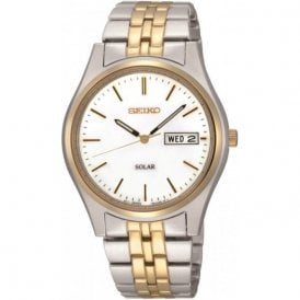 Gents Two Colour Watch with Day/Date Function SNE032P1