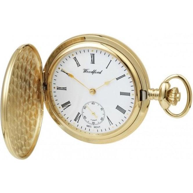Gents yellow PVD Lorus mechanical pockert watch, GP1069