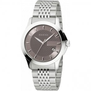 Gucci Gents Timeless Stainless Watch YA126406