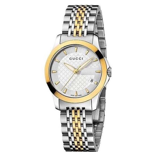 Gucci Watches Gucci Ladies G-Timeless Collection with two tone bracelet