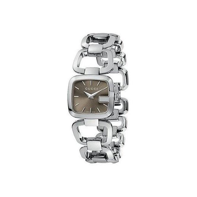 Gucci Watches Gucci Ladies Steel G-Gucci Watch YA125507