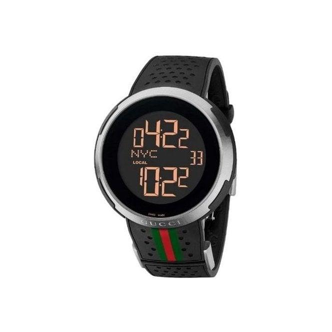 Gucci Watches Gucci Gents Digital Black watch YA114103