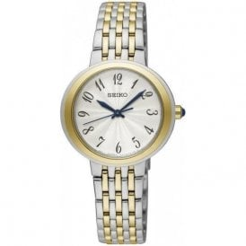 Ladies bi colour Seiko quartz bi colour bracelet SRZ506P1