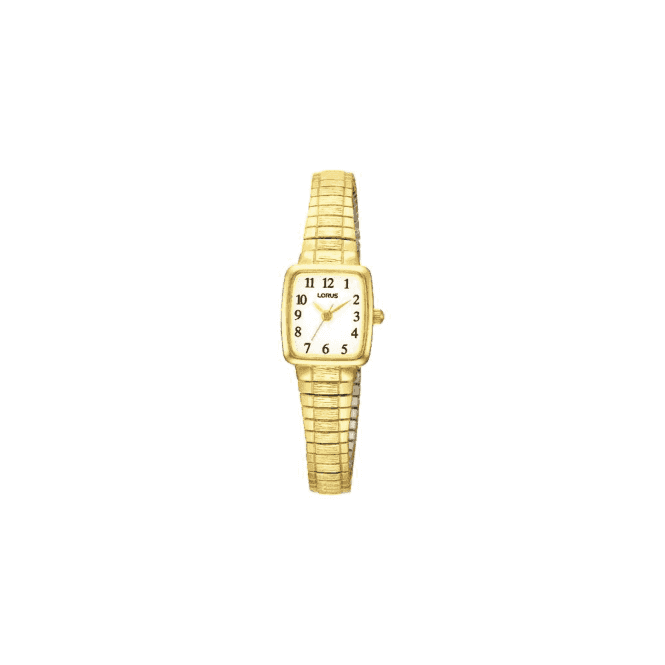 Lorus Ladies gold plated Lorus quartz watch. RPH56AX9