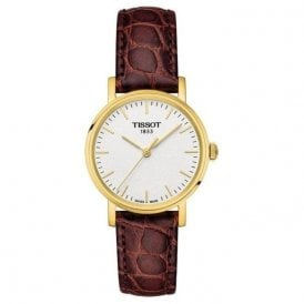 Ladies Gold Plated Tissot Everytime Small