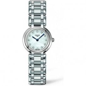 Ladies PrimaLuna Diamond Set Dial Watch
