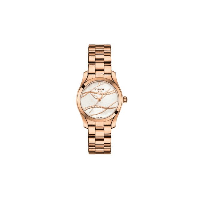 Tissot Watches Ladies Rose plated Tissot Quartz watch. T11332210311100